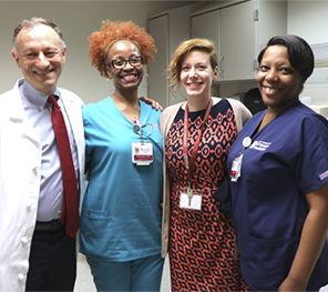 Dr. David Meltzer with Comprehensive Care Practice team members