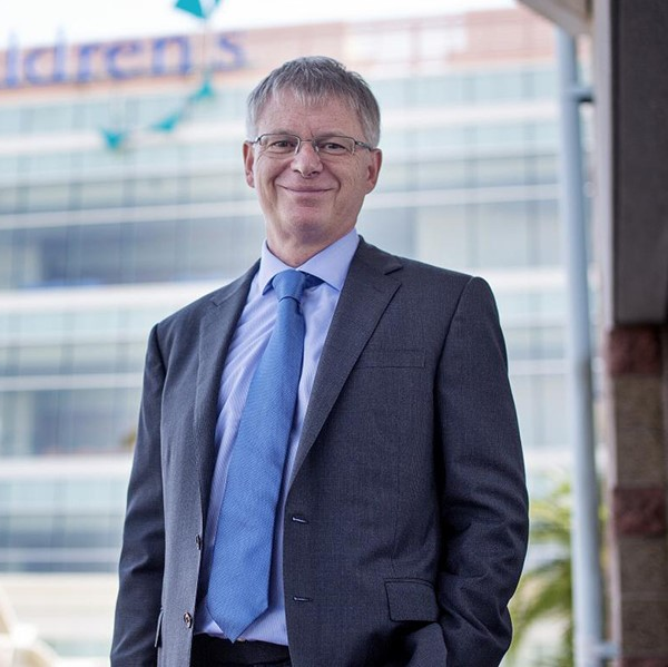 Photo of Dr. Stephen Kingsmore, President and CEO of Rady Children's Institute for Genomic Medicine