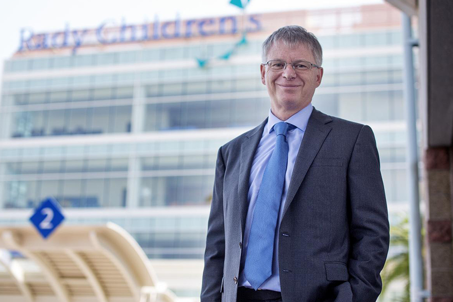 Dr. Stephen Kingsmore, President and CEO of Rady Children's Institute for Genomic Medicine