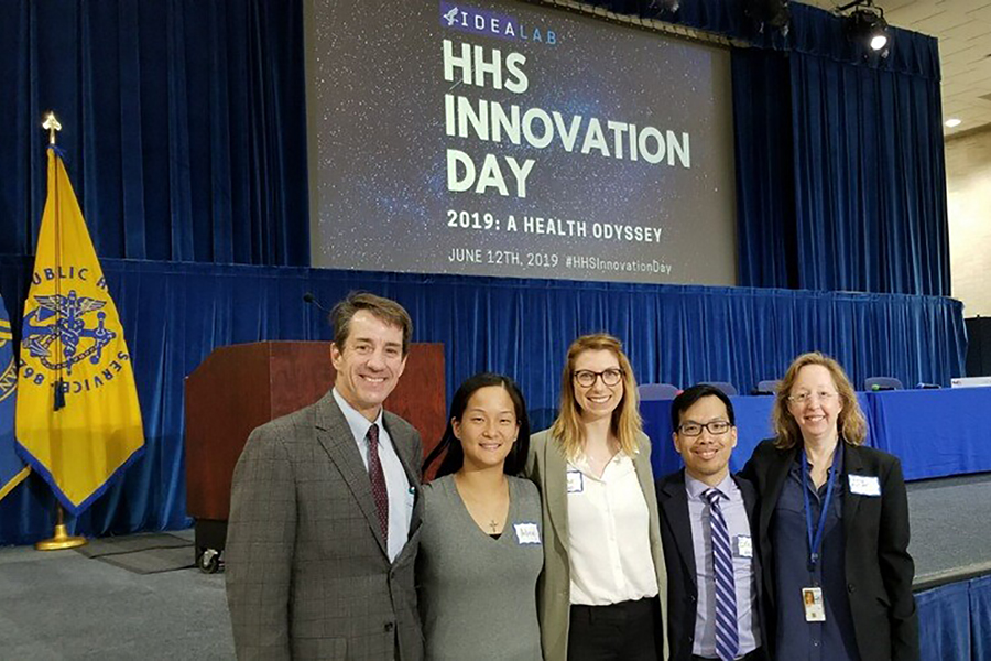 photo of NCATS staff at HHS Innovation Day.