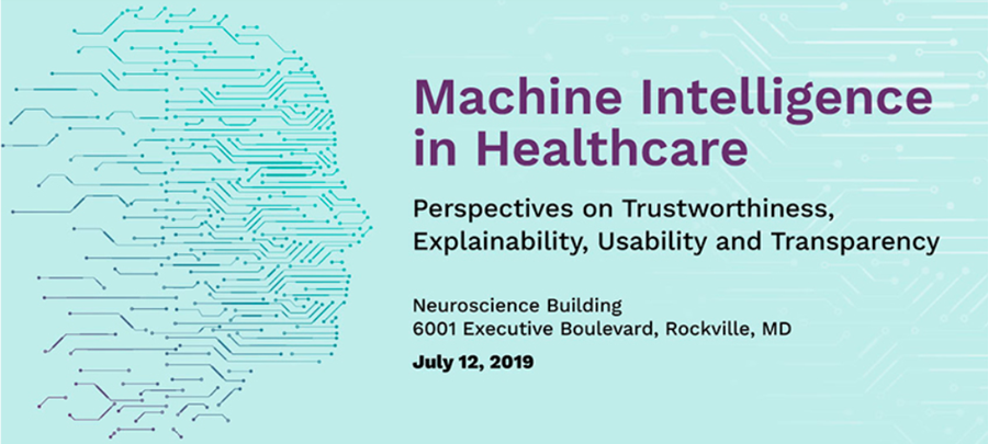 Machine Intelligence in Healthcare banner