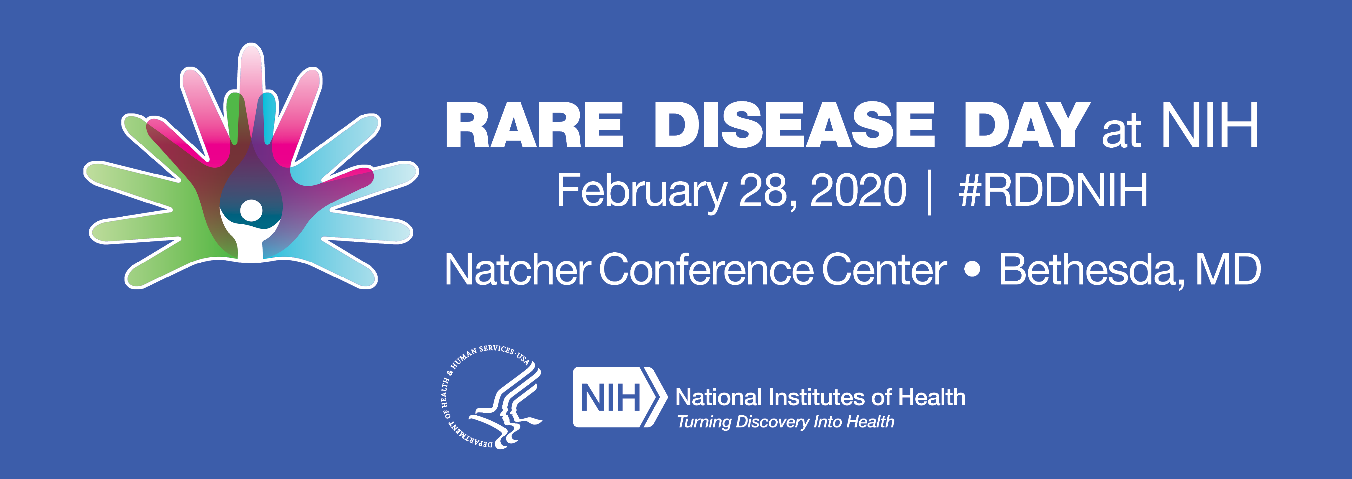 Rare Disease Day at NIH 2020 information banner