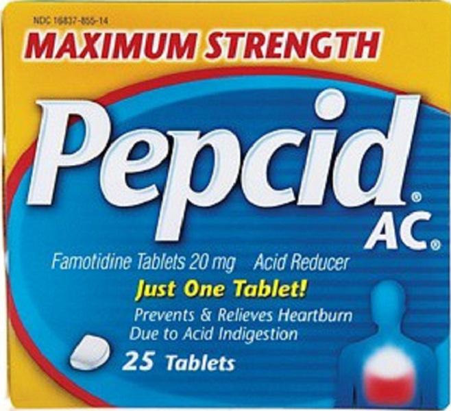 Pepcid AC - Photo Credit: Sheila Fitzgerald/Shutterstock