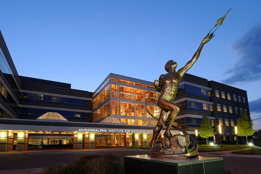 The HudsonAlpha Institute for Biotechnology in Huntsville, Alabama. (HudsonAlpha Institute Photo)