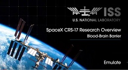 Screenshot from the Emulate Tissue Chip Research on the International Space Station video