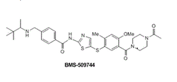 Structure of BMS-509744