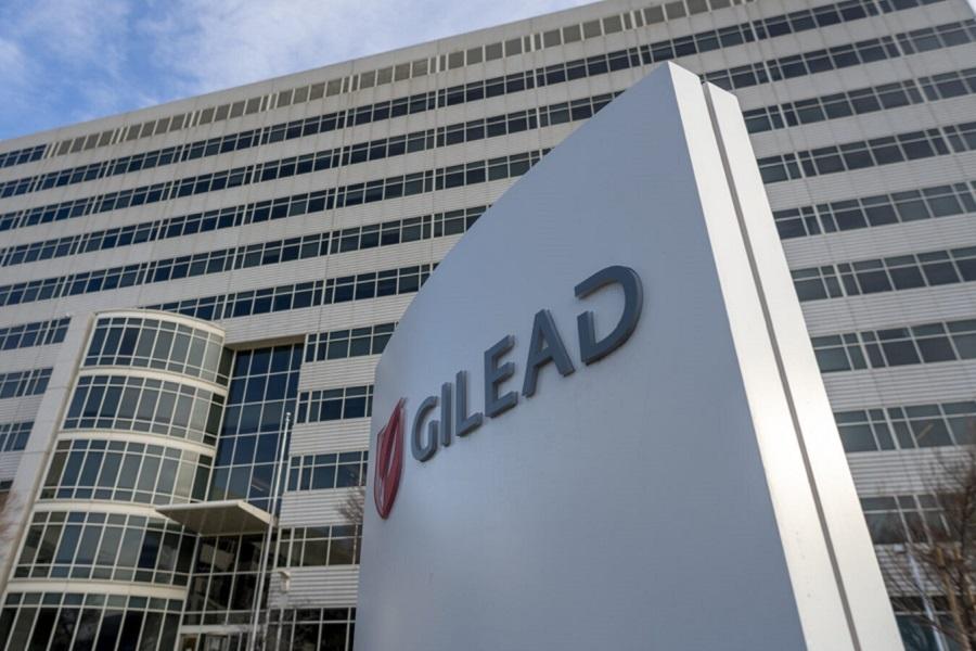 Gilead building, YICHUAN CAO/SIPA USA