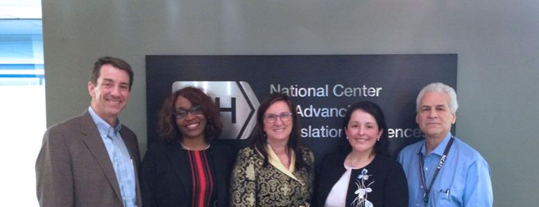 NCATS staff with externship scholar