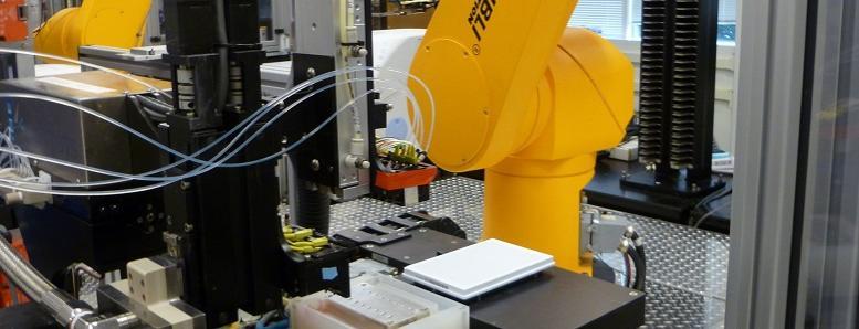 Plate washer and high-throughput screening robot
