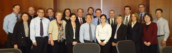 Members of the Niemann-Pick C1 project team.