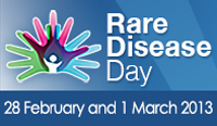 Rare Disease Day 2013, February 28 and March 1