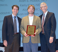 John McKew receives award from the NIH Director Francis Collins