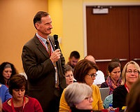 Thomas P. Shanely, M.D. speaks at the Good Clinical Practice meeting in Chicago on Nov. 3-4, 2014