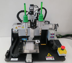 3-D tissue chip printer by Organovo