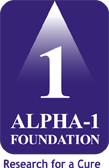 Alpha-1 Foundation logo